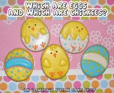 Domestic Sugar: Because Domestic Life is SWEET!: More Easter Cookies