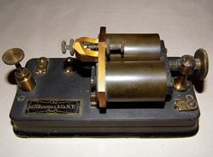 Vintage J.H. Bunnell  Co., 150 Ohms Telegraph Sounder