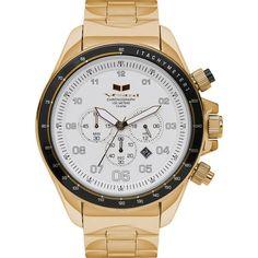 Vestal ZR-3 Watch | Gold/White/Brushed