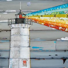 """Nubble Lighthouse in Maine - """"There is a Light That Never Goes Out"""" - Fine Art Print 8x10. $18.00, via Etsy."""