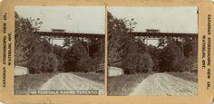 Rosedale Ravine, looking e. to Sherbourne St. bridge. : Toronto Public Library