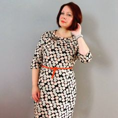 A month in the making, but worth it. My Sew Over Joan Dress in Liberty tana lawn Joan Holloway, Sew Over It, Man Icon, Dress Sewing, Liberty, Lawn, Vintage Inspired, Sewing Patterns, Cold Shoulder Dress