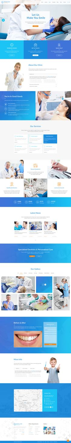 Medical #homepage. Creative #PSD #template