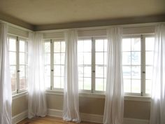 I have come up with a super easy way to make curtains, and for super cheap! I made my curtains out of cotton sheets that I picked up at Wal-Mart. Wal-Mart sells these twin size flat sheets