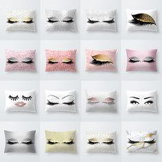 Pink Golden Lash Out Soft Velvet Cushion Cover Marble Pillow Cover Bedroom Sofa Decoration Pillow Cases Pink Cushions, Velvet Cushions, Cushions On Sofa, Throw Pillows Bed, Bed Throws, Throw Pillow Cases, Sofa Cushion Covers, Pillow Covers, Car Sofa