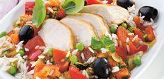 Kurczak po katalońsku Caprese Salad, Food, Meal, Essen, Hoods, Meals, Insalata Caprese, Eten