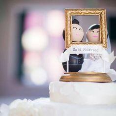 Julho chegou!! Mês de comemorar 1 ano de casamento!! #contagemregressiva #aniversariodecasamento #casamentoperfeito #meucasamentoperfeito #justmarried #topodebolo #noiva #hellojuly #julho #bodasdepapel