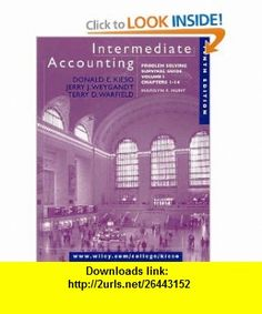 Intermediate Accounting, Volume 1, Chapters 1-14, Problem Solving Survival Guide, 10th Edition (9780471376293) Donald E. Kieso, Terry D. Warfield, Jerry J. Weygandt , ISBN-10: 0471376299  , ISBN-13: 978-0471376293 ,  , tutorials , pdf , ebook , torrent , downloads , rapidshare , filesonic , hotfile , megaupload , fileserve