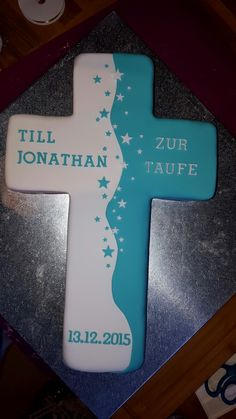 New Ideas Baby Boy Baptism Cale Crosses Fondant Music Themed Cakes, Cross Cakes, Gourmet Cakes, Sugar Scrub Homemade, Baby Boy Baptism, Boy Illustration, Cake Trends, Baking Tins, Lotion Bars