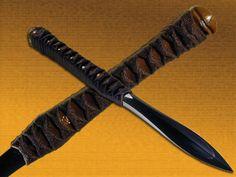 Bamboo Dagger Shiv