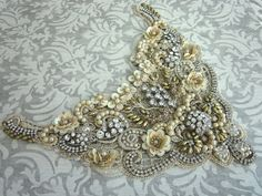 Bridal Lace Necklace/Applique | by Magical Mystery Tuca/Angela Campos