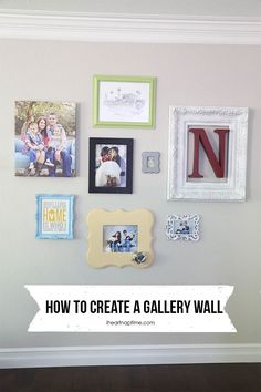 Love this project by I heart Naptime incorporated Shutterfly's canvas prints to create a beautiful gallery wall. #sflydecor