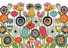 Doodle Patterns 296463587948331908 - Embody Your Muse – Lisa Congdon Source by monarrosoir Doodle Drawings, Doodle Art, Doodle Sketch, Posca Art, Flower Doodles, Doodle Flowers, Drawing Flowers, Arte Popular, Art Graphique