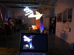 Superbien & Le Creative Sweatshop  http://www.superbien.fr/index.php  http://www.behance.net/gallery/Experimental-Video-mapping-installation/1368295