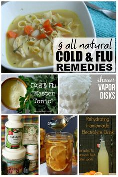 There are so many things I hate about winter, but cold and flu season is by far the worst, especially since I'm the mom and wife to 2 human beings who REFUSE to take any kind of medication. So I've been on the hunt for some natural cold remedies and flu remedies, and I decided to share the love by throwing them together into a master Natural Cold and Flu Remedies post. I particularly like #s 4 & 5!