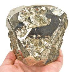 Pyrite - $ 4500  Mina Washington, Rio Sonora Valley, Sonora, Mexico  cabinet, 11.9 x 11.4 x 7.4 cm