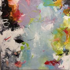Nicola MorganCold Wax and Oil on Canvas, x Oil On Canvas, Wax, Symbols, Cold, Shapes, Texture, Abstract, Artwork, Artist