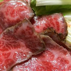 仙台牛のたたき♡ とろけるー♡  #仙台牛 #牛たたき  #肉 #肉食