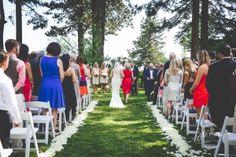 June 2015 Wedding at Hyatt Lake Tahoe. Photography by Junai Weddings