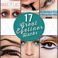 Tired of your basiceyeliner?    Looking for anything out of the ordinary to up style your eyeliner? Fear not as we've got you covered. Check out this wide array of eyeliner tricks that you can do for all types of occasion or just on an ordinary day where you just want to glam