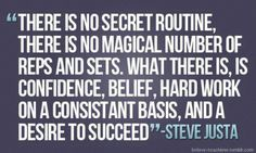It's not magic or rocket science. It is hard word, dedication and commitment.