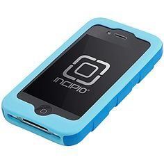 Incipio Destroyer Ultra Hard Shell Case w/ Holster for iPhone 4, Turquoise- not sure I love the silicone covering the front?  $29.95