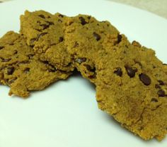 Paleo Pumpkin and Chocolate Chip SPLAT cookies (for a quick breakfast grab)