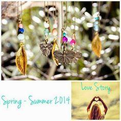 SHIORI JEWELLERY Summer 2014, Spring Summer, Love Story, Jewellery, Drop Earrings, Fashion, Latest Fashion Trends, Feminine, Moda