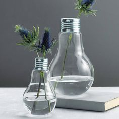 lightbulb vase by london garden trading | notonthehighstreet.com