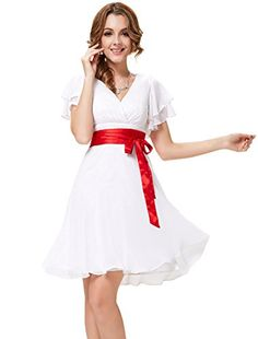 HE03967WH14, White , 12US, Ever Pretty Graduation Dresses For Juniors 03967 Ever-Pretty http://www.amazon.com/dp/B00KYKQQ9A/ref=cm_sw_r_pi_dp_t4z8wb0TR8MCR