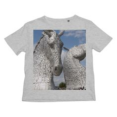 the Kelpies 906, the Helix, Falkirk , Scotland Kids Retail T-Shirt Online Gift Shop, Online Gifts, The Singing Butler, Outlander Gifts, Clydesdale Horses, West Coast Scotland, Fur Collar Jacket, James Bond Movies, Original Gifts