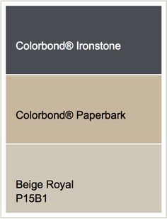Roof - Ironstone |  Render - Beige Royal  |  Windows - Paperbark
