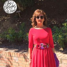 Como cambia el look con un buen complemento!! #lostocadosdepau #ldlestilistas #zaragoza#zgz#peluqueriazaragoza #peluquetia#conplemento#accesorio#cinturon#bolso#belt#flowers#flores#rojo#morado#invitadaperfecta #invitadaboda #invitadaideal#novia#boda#weddingdress #party#fiesta#accesorie#fotaza#clientas#vip http://gelinshop.com/ipost/1522328680625709578/?code=BUgZd6QFaIK
