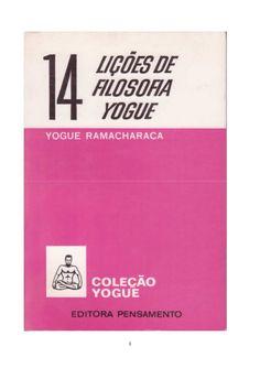 14 Lições de Filosofia Yogue Ramacháraca