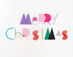 Merry Christmas printable card from 10amshop on etsy