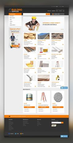 Home Repairs Responsive Magento Theme E-commerce Templates, Magento Themes, Business & Services, Maintenance Services Templates, Home Repairs Templates