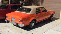 1977 AMC Hornet, Sunrise Orange