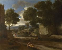Landscape with Travellers Resting, c. 1638-39, National Gallery of Art, London