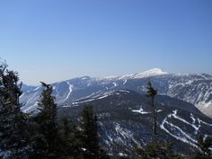 View looking towards Mt. Mansfield and Stowe Ski Resort from Smugglers Notch this past March.  A Vermont classic and lovely spot, can't wait to check it out in the summer when the weather is warmer!