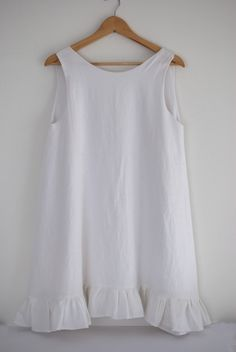 Vestido de lino Ámbar