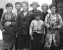 Victorian children chimney sweeps