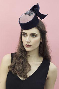 e30d93a1c5faf Stella Percher Hat. Millinery HatsPillbox HatBeretFascinator ...