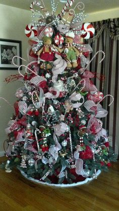 gingerbread/candyland christmas tree