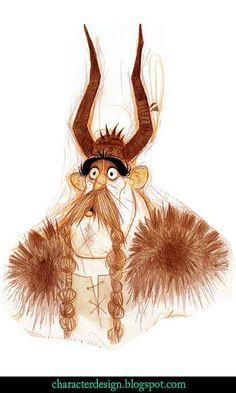 NICOLAS MARLET  Concept Art - Personnages © Dragons