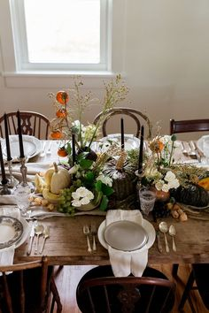 A Daily Something | Still Life Inspired Thanksgiving Table