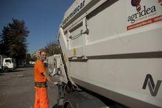 Christian. Lavoratore del settore #raccoltadifferenziata #waste #worker #recycling #torino