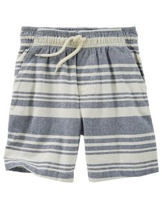 Baby Boy Striped Camp Shorts from OshKosh B'gosh. Shop clothing & accessories from a trusted name in kids, toddlers, and baby clothes.