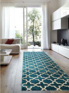 Teppich Läufer Arabesque Blau