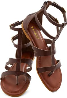 Strap Happy Sandal #shopstyle #modcloth #ad *love