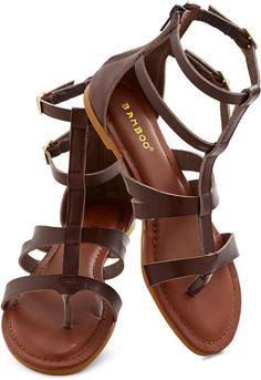 Strap Happy Sandal #shopstyle #modcloth #ad *love